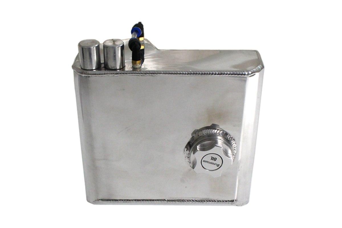 Oil catch tank 2L 10mm / 14mmTurboWorks Silver - GRUBYGARAGE - Sklep Tuningowy